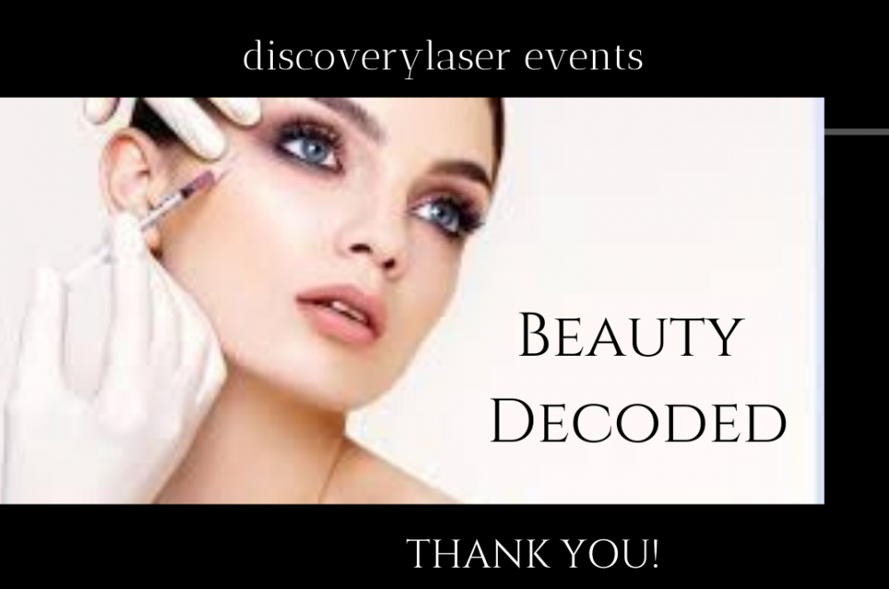 Cheers to the successful introduction of our 1st Beauty Decoded event!