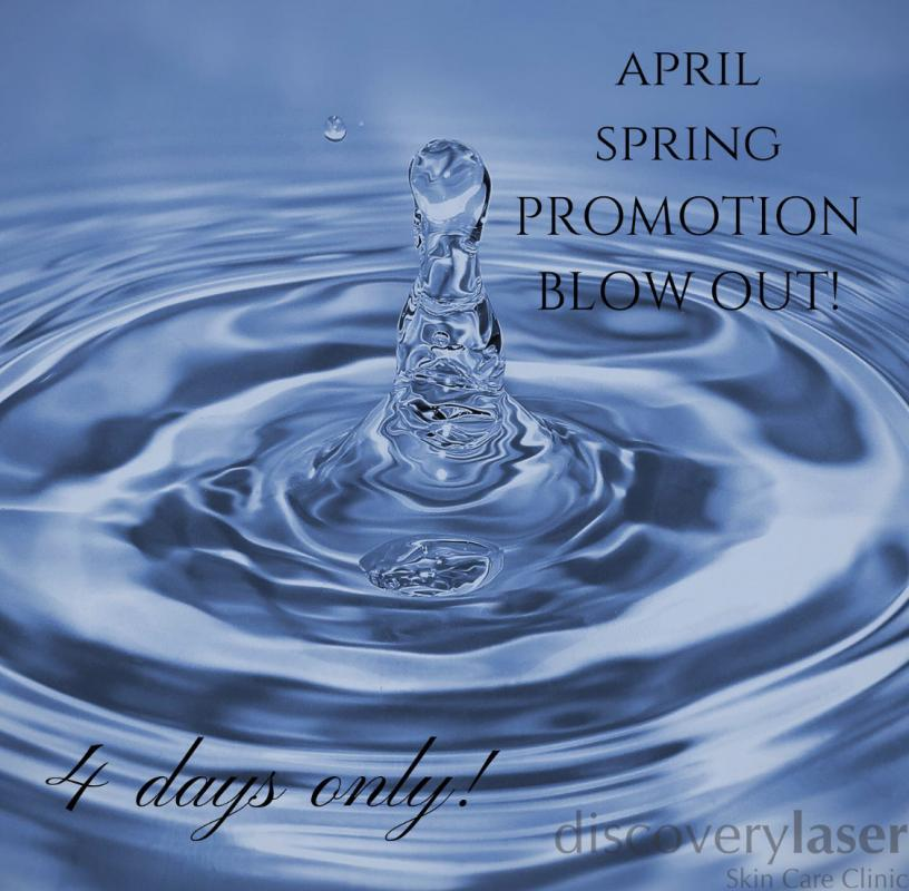 April Spring Promotion  Blow Out