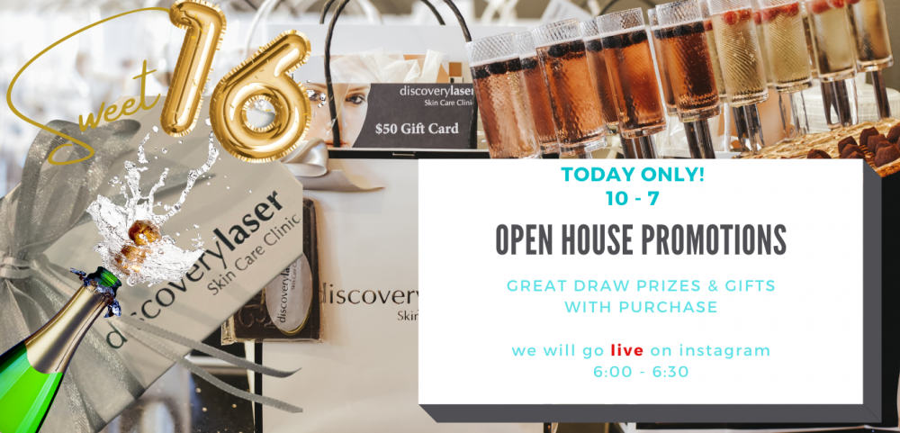Open House Promotions!