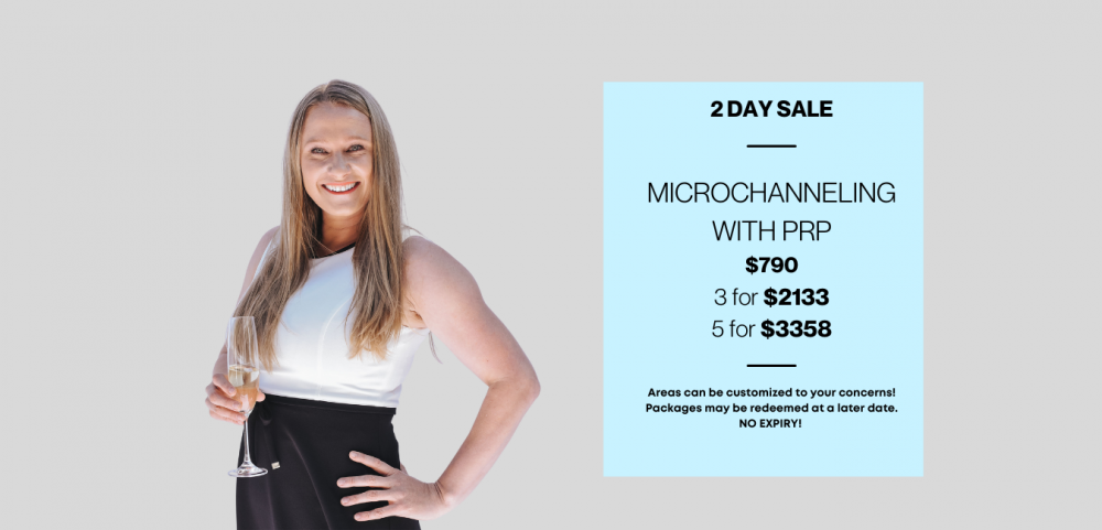 Friday Flash Sale! 2 Days Only. Microchanneling Full Face with PRP